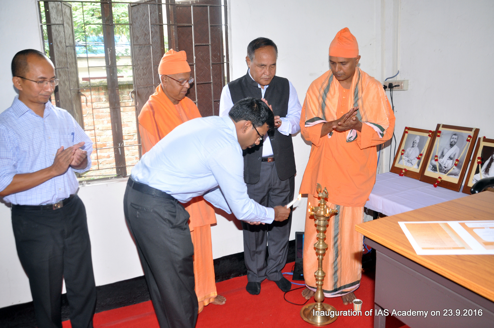 Inauguration of IAS Academy at Babupara Campus