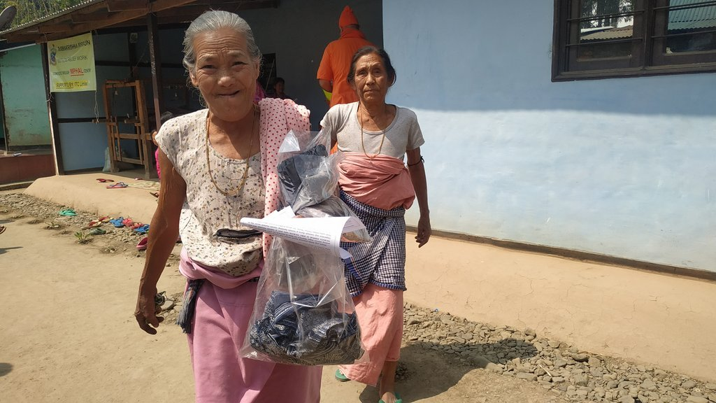 Relief @ Torbung, Leimaram & Churachandpur