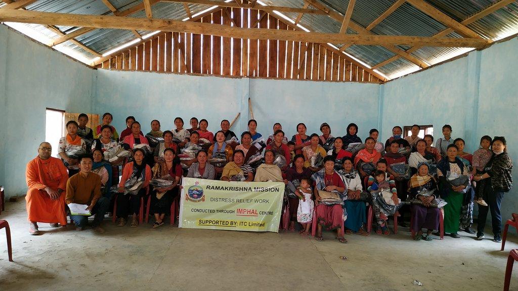 Visit & Relief@ Rajaimei Village & Tomoyun Khullen, Senapati District