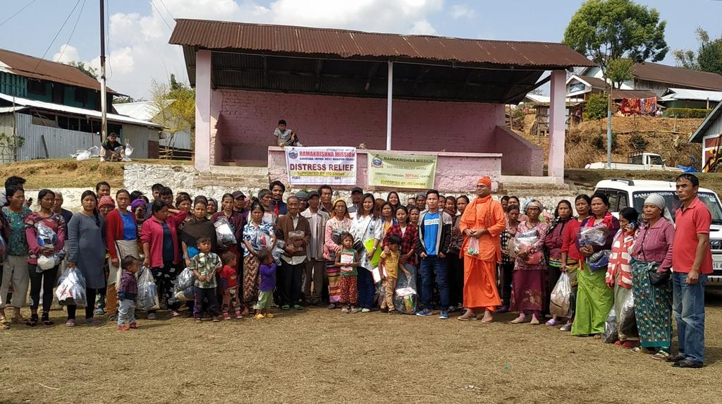 Visit & Relief @ South Changoubung Village, Kangpokpi District & Tumuyon Khullen, Senapati District