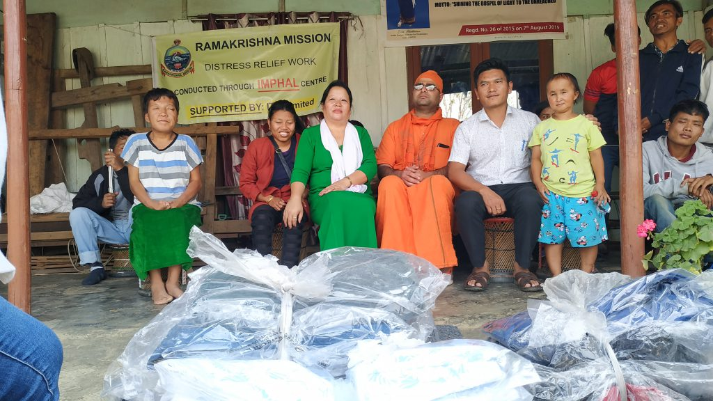 Visit to Home for Destitute (GMFDI) Churachandpur